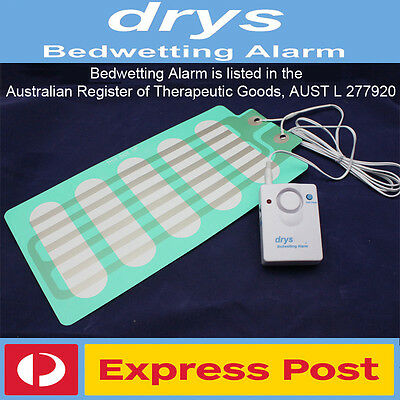 DrySleep Bedwetting Mattress Alarm NON-INVASIVE Bed Wetting Enuresis Alarm LOUD