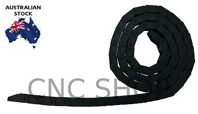 7X7 Id Standard Cable Carrier Drag Chain Wire Flex Plastic Tow Line Diy Cnc