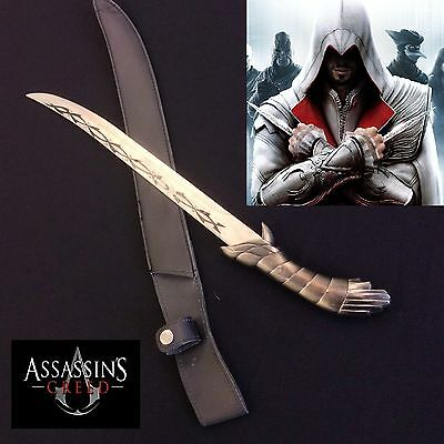 Assassin's Creed Full Tang Fighting Knife Stainless Steel with Sheath