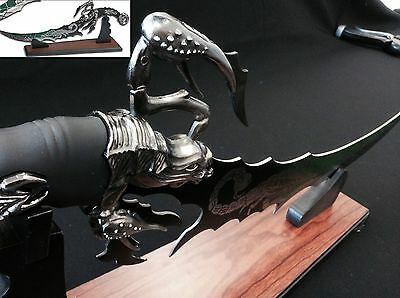 Scorpion Bowie Fantasy Dagger/Knife With Display Stand