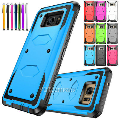 Protective Hybrid Shockproof Soft Rubber Case Cover for Samsung Galaxy Note 5