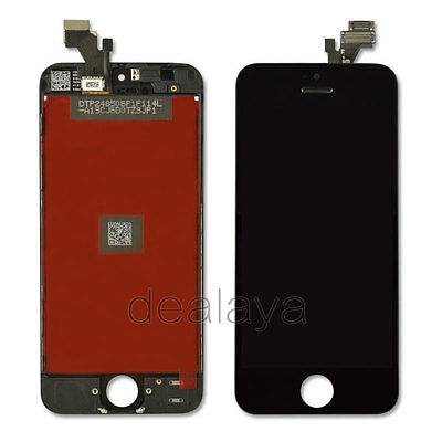 For iPhone 5 5G Black LCD Display Touch Front Screen Digitizer Full Replacement