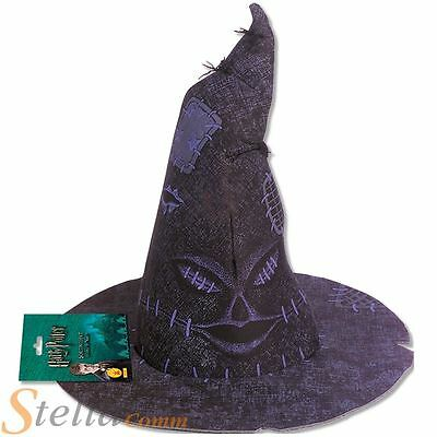 Official Harry Potter Sorting Hat Fancy Dress Costume Halloween Wizard Accessory