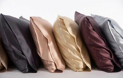 Carltys 100% Pure Mulberry Silk Pillowcases. The Very Best Premium Silk-19 Momme