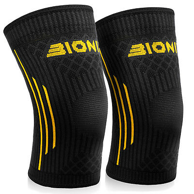 Knee Compression Sleeves Patella Joint Support Brace Bandage Running Injury Wrap