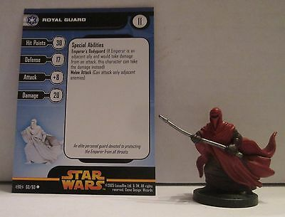 Royal Guard 60/60 Star Wars Miniatures Minis Revenge of the Sith ROTS