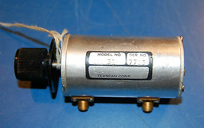 Texscan Corp. MA 51 Variable Step Attenuator