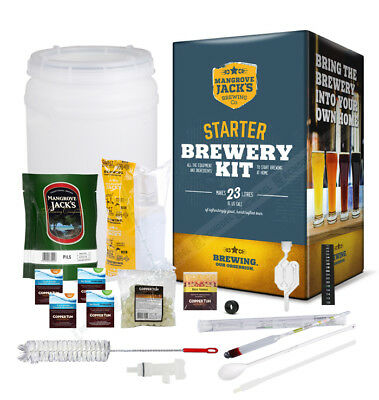 New Mangrove Jack's Traditional Series Starter Brewery Kit Home Brew
