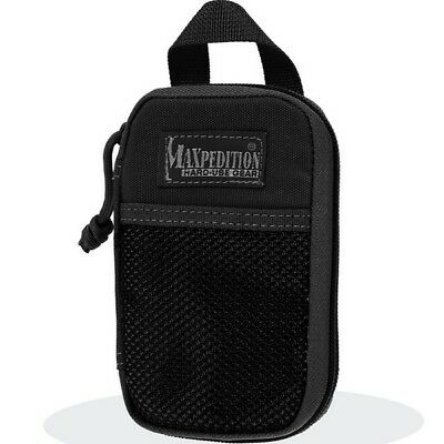 Maxpedition Micro Pocket Organiser Compact Carry Case 0262B BLACK