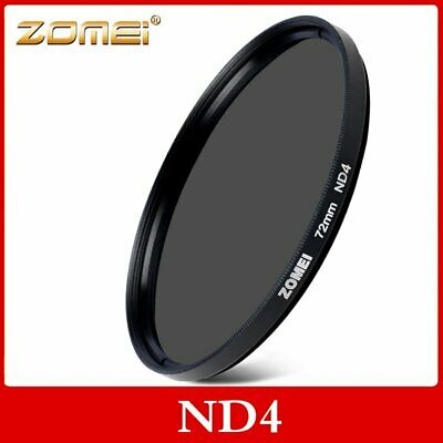 ZOMEI 52/55/58/62/67/72/77/82mm ND4 2-stop Neutral Density Filter for All Lens
