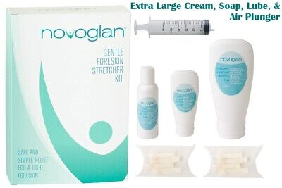 NOVOGLAN Complete Foreskin Care Package - Extra Large - Phimosis Cure