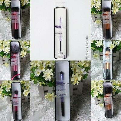 Hot Foundation Powder Starter Makeup Blush Brushes Many Design Real Techniques