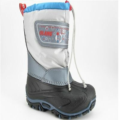 Kid's Olang Dotto Winter Silver Boots UK 9.5/10