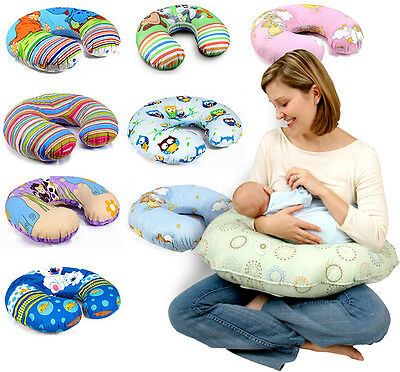 Baby Feeding Pillow Pregnancy Breast Nursing Support + Removable Cotton Cover