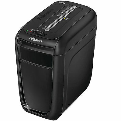 Fellowes Powershred Cross Cut Shredder 10 Sheet Max Credit Cards Office Papers