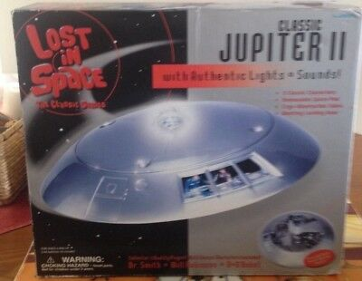 Lost IN Space Classic Jupiter 2 By Trendmasters New MIB