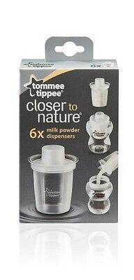 Tommee Tippee Closer to Nature Milk Powder Dispensers 6