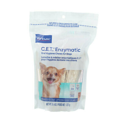 CET Enzymatic Oral Care Chews Petite - 30 Chews By Virbac
