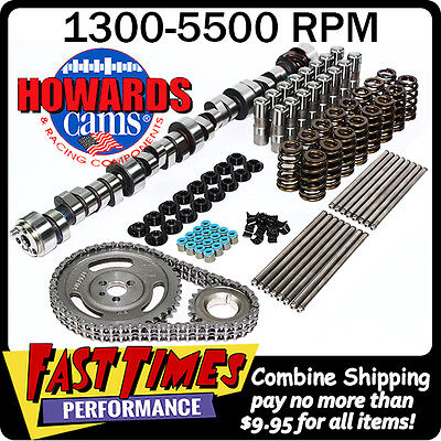 HOWARD/'S SBC Small Chevy Retro-Fit Hyd Roller 298//298 560//560 110° Cam Camshaft