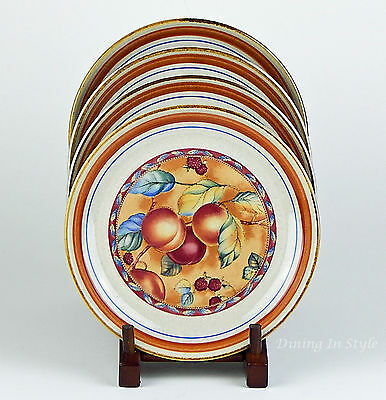 Set of 4 Salad Plates, SUPERB+ Condition! Sugar N Spice, International, 045