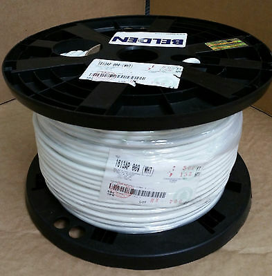 RG6 Plenum Belden 1613AP 009 (18awg) RG6 Flamarrest Plenum Coax Cable 500 feet