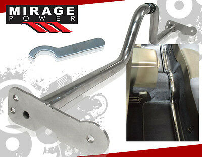 Adjustable Rear Floor Strut Bar Chrome Stability Frame Brace Toyota 4 Door Model