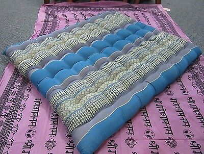 Double Stitched Cotton Kapok Thai Meditation Zabuton Kneeling Matt Yoga Cushion