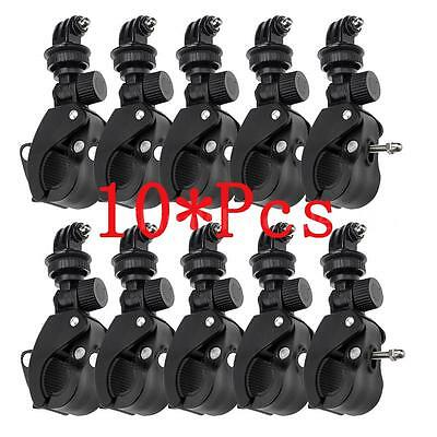 LOT*10X Camera Handlebar Seatpost Clamp Roll Bar Mounting Adapter for GoPro B3A0