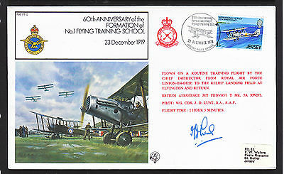 1979 Royal Airforce   Flight Cover      Signed