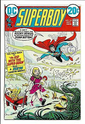 Superboy # 191 (Oct 1972), Vf