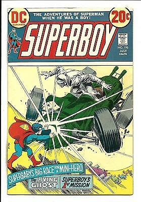 Superboy # 196 (July 1973), Vf