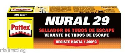 Sellador de Tubos de Escape Pattex NURAL 29 Pasta Selladora de Escapes 80g