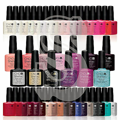 CND Shellac UV Nail Polish Choose from STARSTRUCK COLLECTION & ALL NEW COLOURS