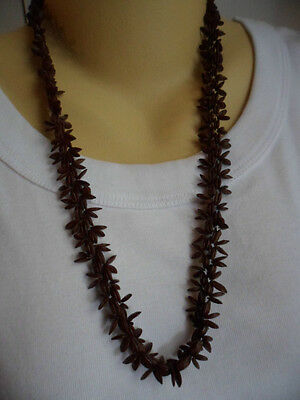 Handmade Old Vintage Ethnic Tribal Hand Made Intricate Seed Antique Necklace