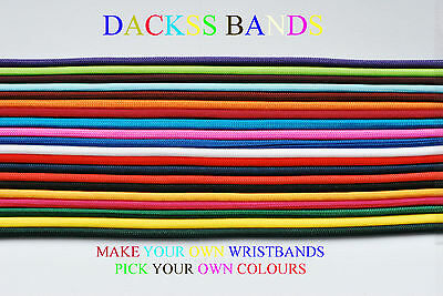 DIY Make Your Own Hand Made 2 Coloured Wristband/Bracelet From 550 Paracord