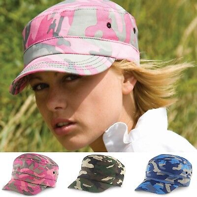Camouflage Cap Military Army Camo Hat Urban Cadet Mens Womens Ladies Baseball