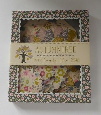 Tilda Autumn Tree Paper Candy Box Labels & Cut Out Shapes