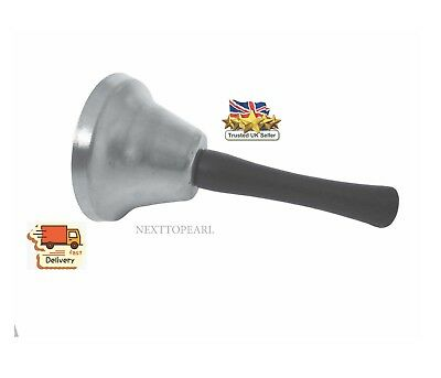 Stainless Steel Hand Bell Hand Service Bell - The Classic Reception Service Bell