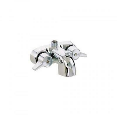 """Heavy Duty 3 3/8"""" Centers Chrome Plated Diverter Clawfoot Tub Faucet, New"""