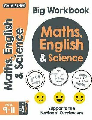 Maths, English and Science (Big workbook) Key Stage 2 Ages 9-11