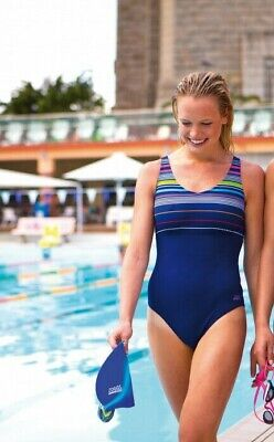 Zoggs 'Formula Xneck Clipback' Swimsuit - Various Sizes Available (13252)