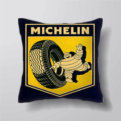 Michelin man Tire advertisement  On Cushion Covers Pillow Cases Decor Inner