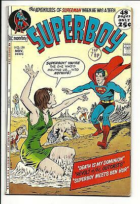 SUPERBOY # 179 (48 Pages, NOV 1971), FN-