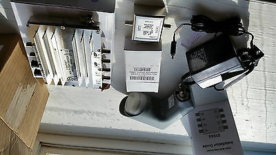 Videopath SW-44 (SW44) Multi-Dish Switch with Power Inverter & Adapter WITH LNB