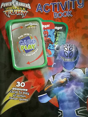 Power Rangers Jungle Fury Activity and Colouring Book with Card Game