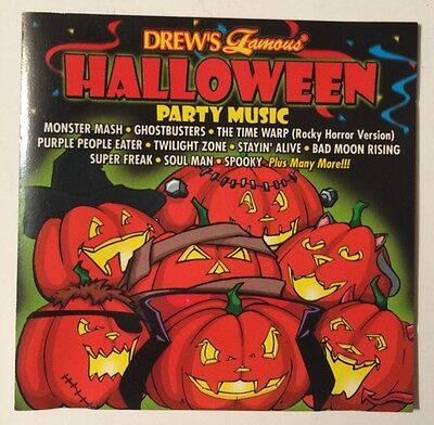 Drew's Famous Halloween Party Music, Monster Mash, Ghost Busters, Music CD