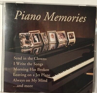 Piano Memories, I Write The Sings Music CD