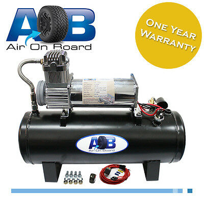 500 Air compressor 12 V air bag suspension ride Patrol Hilux 4WD 4X4 airlift