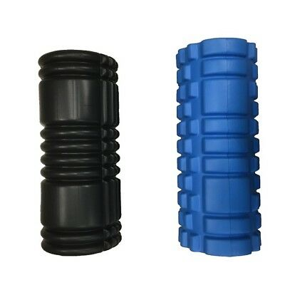 EVA Grid Foam Roller - 33cm - Yoga Pilates Gym Exercise Back Training massage