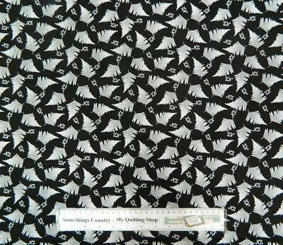 Patchwork Quilting Fabric NZ SILVER FERN Material Sewing Cotton FQ 50x55cm NEW